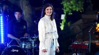 Lorde saat gelar konser tunggal di Los Angeles tahun 2016. (AFP)
