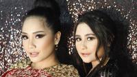 Nagita Slavina dan Prilly Latuconsina. (Instagram/carendelano)