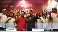 Jakarta Fun Run digelar pada Minggu (1/7/2018) sebagai ajang promosi Asian Games 2018 kepada masyarakat. (Bola.com/Zulfirdaus Harahap)