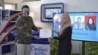 Penutupan kegiatan work force development di Politeknik Caltex Riau. (Liputan6.com/M Syukur)