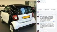 Viral Mobil Kecil Mirip Smart Fortwo Dijual, Harga Rp 25 Juta (Foto: Facebook Ayahe Satria)