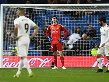 Real Madrid Perpanjang Catatan Negatif