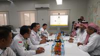 Bidang Masyair Kementerian Haji dan Umrah Saudi mengundang Panitia Penyelenggara Ibadah Haji (PPIH) Arab Saudi untuk membahas rencana peningkatan kualitas manasik dan layanan di Armuzna. Dok Kemenag