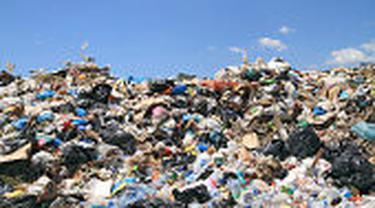 Ilustrasi foto sampah plastik.