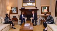 Presiden Jokowi dan PM Scott Morrison di Australia. Dok: Twitter Menlu RI  @Menlu_RI