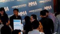 Mobile Marketing Association (MMA) menggelar MMA Forum Indonesia 2014, Kamis (13/11/2014) di Four Seasons Hotel, Jakarta (Liputan6.com/Faisal R Syam)