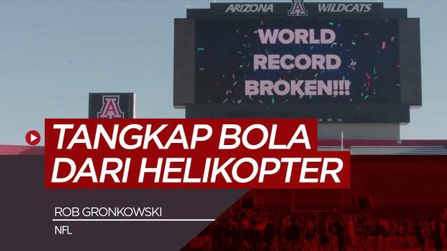 Berita video atlet NFL, Rob Gronkowski mencetak rekor dunia, Minggu (25/4/21) di Arizona, Amerika Serikat.
