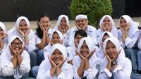 Bupati Purwakarta Dedi Mulyadi menyebut, sekolah sehari penuh alias sistem full day school juga berpeluang membuat anak stres dan depresi. (Liputan6.com/Abramena)