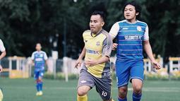 Bersama Selebritis FC, Judika kerap mengunggah potretnya sedang bermain sepak bola. Dengan memakai jersey berwarna kuning, Judika tampak terlihat layaknya seorang pesepak bola profesional. (Liputan6.com/IG/@jud1ka)