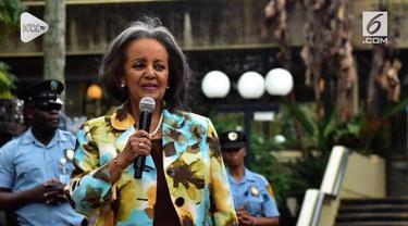 Ethiopia resmi memiliki Presiden wanita pertama. Parlemen Ethiopia secara bulat memilih Sahle-Work Zewde sebagai Presiden yang baru.
