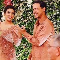 Raisa dan Hamish Daud unjuk cincin tunangan (Instagram/@raisadanhamish)