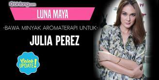 Melihat kondisi sahabatnya semakin kritis, Luna Maya beri ini untuk Julia Perez.