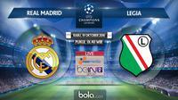 Liga Champions_Real Madrid Vs Legia (Bola.com/Adreanus Titus)
