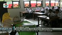 Siswa berharap ada perhatian dari Pemerintah Provinsi Jawa Barat, untuk secepatnya membangun infrastruktur gedung sekolah.