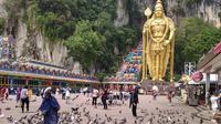 Suasana di objek wista Batu Caves di Selangor. (Liputan6.com/Thomas)
