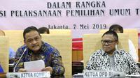 Rapat Kerja Pimpinan DPD RI, Komite I DPD RI dengan Kemendagri, Kemenkumham, Kejagung, BIN, TNI dan Polri.