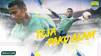 Persib Bandung - Teja Paku Alam (Bola.com/Adreanus Titus)
