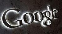 Logo Google di Kantor Google di Toronto, kanada. Foto: Reuters/Chris Helgren