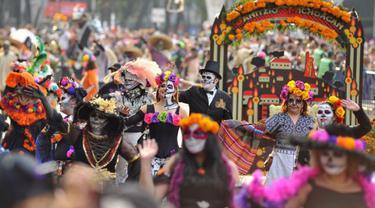 Bak Film Coco, Festival Kematian Jadi Tradisi Lokal di Meksiko