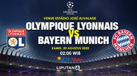 Prediksi Olympique Lyonnais Vs Bayern Munich (Trie Yas/Liputan6.com)