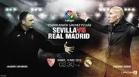 Sevilla vs Real Madrid (Liputan6.com/Abdillah)