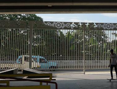 Skate Park di Kolong Flyover Pasar Rebo