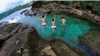 Destinasi wisata alam yang ada di Yogyakarta dan jadi favorit para pemancing dan pecinta air (ig: @wediombo)