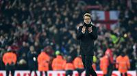 Jurgen Klopp mengakui Liverpool tidak dinaungi keberuntungan. (AFP/Paul Ellis)