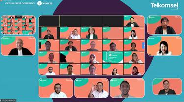 Peluncuran aplikasi Kuncie oleh Telkomsel