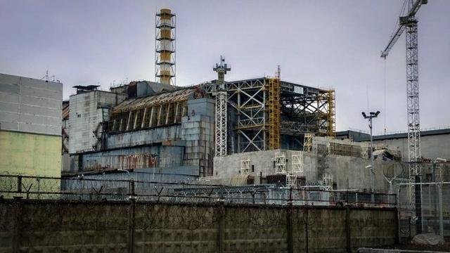Chernobyl di Ukraina