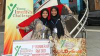 Mahasiswa ITS Surabaya meraih prestasi di Malaysia (Foto: Liputan6.com/Dian Kurniawan)