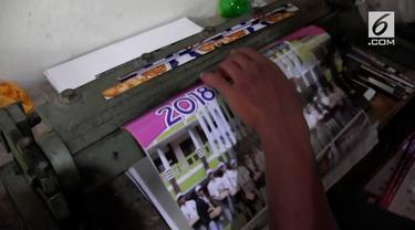 Bagi para produsen kalender, menjelang pergantian tahun adalah saat yang ditunggu-tunggu.