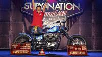 Harley Davidson Sportster garapan Gege's Garage juarai Suryanation Motorland seri Tangerang. (ist)