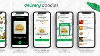 Grab menghadirkan fitur baru di GrabFood, yakni Grab Delivery Doodles yang mengubah gambar anak-anak menjadi pesanan makanan menggunakan teknologi AI Google (Foto: Grab Indonesia)