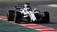 Pebalap Williams, Felipe Massa, mencatat waktu lap tercepat pada hari pertama tes pramusim F1 di Barcelona, Selasa (7/3/2017). (Bola.com/Twitter/F1)