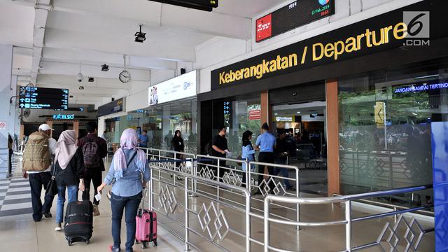 Angkasa Pura Pemudik Melalui Bandara Halim Perdanakusuma