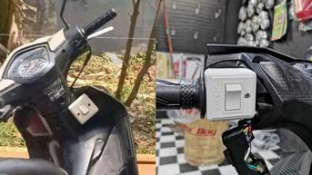 Kreativitas Tinggi, 6 Potret Modifikasi Lubang Kunci Motor Ini Bikin Ngelus Dada