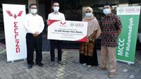 Wuling mendonasikan 25 ribu masker non medis kepada Muhammadiyah Covid-19 Command Center. (Wuling)