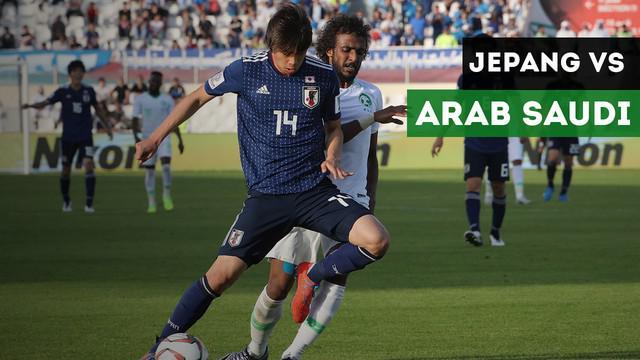 Berita video highlights 16 besar Piala Asia 2019 antara Jepang Vs Arab Saudi dengan skor akhir 1-0.