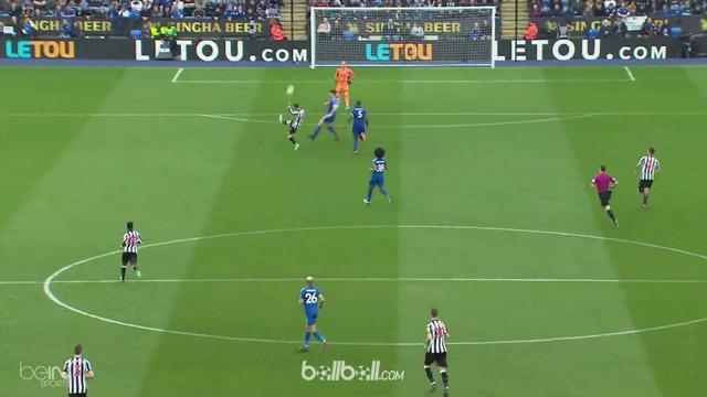 Ayoze Perez menyumbangkan satu gol dan satu assist saat Newcastle mengalahkan Leicester City 2-1. This video is presented by Ballball.