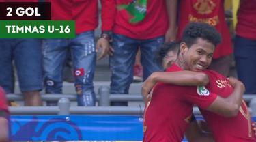 Berita video momen gol-gol Timnas Indonesia U-16 ke gawang Australia U-16 pada perempat final Piala AFC U-16 2018, Senin (1/10/2018).