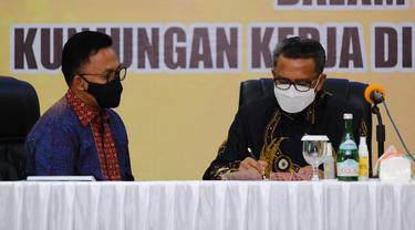 Gubernur Sulawesi Selatan, Nurdin Abdullah (Liputan6.com/Fauzan)