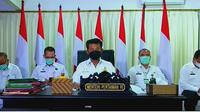 Menteri Pertanian (Mentan), Syahrul Yasin Limpo alias SYL, melepas ekspor perdana produk olahan unggas dari PT Charoen Pokphand Indonesia ke Qatar. Dok Kementan