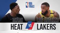 NBA Final 2020: Miami Heat vs LA Lakers. (Bola.com/Dody Iryawan)