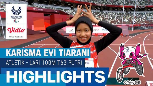 Berita Video, Highlights Pertandingan Lari 100 Meter pada Sabtu (4/9/2021)