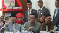 Dalam rangka peningkatan mutu dan kualitas perguruan tinggi Universitas Islam Negeri Sunan Ampel (UINSA) Surabaya, Menpora Imam Nahrawi hari Jumat (8/3) pagi hadir sebagai salah satu narasumber penilaian dari unsur alumni.