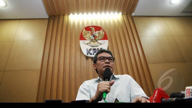 Tim Satgas KPK melakukan operasi tangkap tangan (OTT) di kawasan Sanur, Bali, Kamis 9 April 2015 malam, terkait dugaan tindak pidana korupsi.