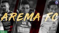 3 Pemain Arema FC Piala Gubernur Kaltim 2018 (Bola.com/Adreauns TItus)