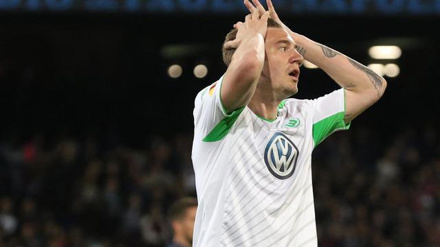 Nicklas Bendtner menjadi pahlawan bagi Wolfsburg saat Wolfsburg mengalahkan Bayern Munchen di final Piala Super Jerman, Sabtu (1/8/2015).