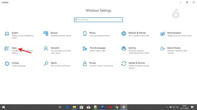 Pilih browser di PC. (Liputan6.com/ Yuslianson)